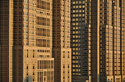 Local Prints - Closeup Of Tokyo Metropolitan Government Building Print by Image Provided by Duane Walker