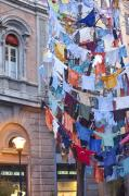 Bologna Photos - Clothes in the Street by Andre Goncalves