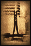 Clothes Pin Statue - Philadelphia Print by Bill Cannon