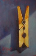 Laundry Originals - Clothespin by Donna Shortt