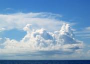 Cloud Print by Barbara Marcus