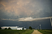 Gravel Road Photos - Cloud Barn Scene with Gravel Road by Jennifer Brindley