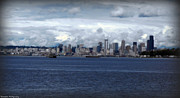 Seattle Digital Art Originals - Cloud Capitol by Benjamin Thompson