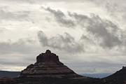 Bell Rock Posters - Cloud-filled Sky Over Bell Rock, A Main Poster by Charles Kogod