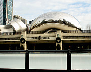 Skating Photo Metal Prints - Cloud Gate - 2 Metal Print by Ely Arsha