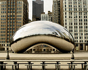 Cloud Gate Prints - Cloud Gate - 3 Print by Ely Arsha