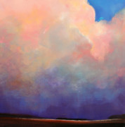 Storm Prints Painting Posters - Cloud Light Poster by Toni Grote