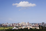 South Africa Prints - Cloud Over Durban Seen from the Berea Print by Jeremy Woodhouse