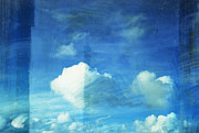 Burnt Posters - Cloud Painting Poster by Setsiri Silapasuwanchai