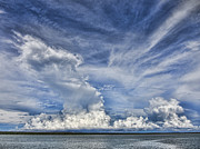 Cumulus Clouds Framed Prints - Cloud Reach Framed Print by Douglas Barnard