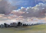 Clouds 1 Print by Milind Mulick