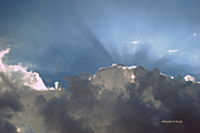 Corporate Are Prints - Clouds-12 Print by Paulette Wright