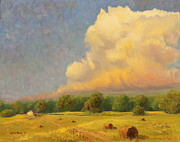 Cumulus Originals - Clouds Above Farm by Steve Haigh