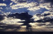 Sunsets Rainbows Clouds - Clouds and Lightrays by Peter Stone - Printscapes