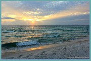 Panama City Beach Framed Prints - Clouds and sun Framed Print by Sharon Ventimiglia