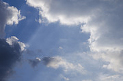 Clouds Photographs Posters - Clouds Poster by Lyubomir Kanelov