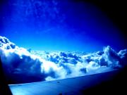 Arial View Photos - Clouds by Mike Grubb