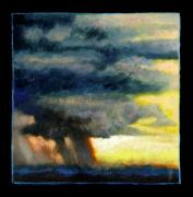 Storm Clouds Painting Originals - Clouds Number Eight by John Lautermilch