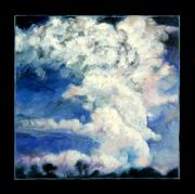 Storm Clouds Painting Originals - Clouds Number Eleven by John Lautermilch