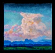 Pink Clouds Framed Prints - Clouds Number Three Framed Print by John Lautermilch