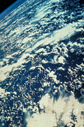 Aeriel View Art - Clouds Over Amazon by Nasa