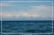 Sandstone Bluffs Posters - Clouds over Lake Ontario on a Summers day Poster by Rose Santuci-Sofranko