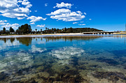 Ecology Framed Prints - Clouds over Narrabeen Lake Framed Print by John Buxton