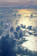 Sunsets Rainbows Clouds - Clouds Over Ocean by Ed Robinson - Printscapes