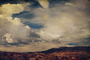 Textured Landscapes Digital Art - Clouds Please Carry Me Away by Laurie Search