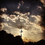 Clouds Art - #clouds #sky #sunset #afternoon by Amber Flowers
