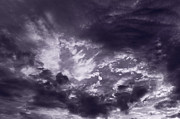Dramatic Light Posters - Clouds Poster by Steve Gadomski