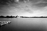 Tidal Basin Photos - cloudscape and the Tidal Basin by Edward Kreis