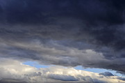 Threats Prints - Cloudscape of stormy sky Print by Sami Sarkis