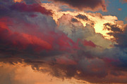 Sunsets Prints Framed Prints - Cloudscape Sunset 46 Framed Print by James Bo Insogna