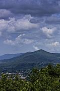 Blue Knob Mountain Prints - Cloudy Day in Virginia Print by Teresa Mucha