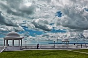 Domes Prints - Cloudy View Print by Sharon Lisa Clarke