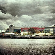Sports Art - #cloudy #weather In #manchester by Abdelrahman Alawwad