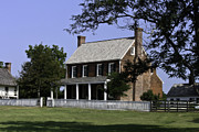 Clover Hill Tavern Appomattox Virginia Print by Teresa Mucha
