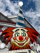 Original Photography Posters - Clown Around Poster by Colleen Kammerer
