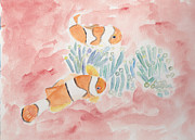 Clown Fish Originals - Clown Fish by Debi Hamari