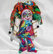 Fun Tapestries - Textiles - Clown by Tamara Konovalova