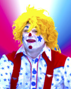 Terry Digital Art - Clown by Terry Anderson
