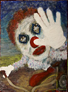 Glove Painting Framed Prints - Clownbike Framed Print by David DeHetre