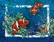 Sue Duda Prints - Clowning Around - Clownfish Print by Sue Duda