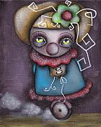 Abril Andrade Griffith Art - Clowning Around by  Abril Andrade Griffith