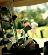 Golf Clubs Prints - Clubs III Print by Christine Zipps