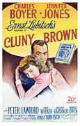 Films By Ernst Lubitsch Framed Prints - Cluny Brown, Charles Boyer, Jennifer Framed Print by Everett