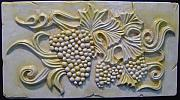 Vines Reliefs - Cluster Of Grapes by Guillaume Guy