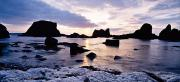 Evening Scenes Framed Prints - Co Antrim, Whitepark Bay, Ballintoy Framed Print by The Irish Image Collection