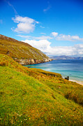 Coast At Keem Bay On Achill Island Print by Gabriela Insuratelu
